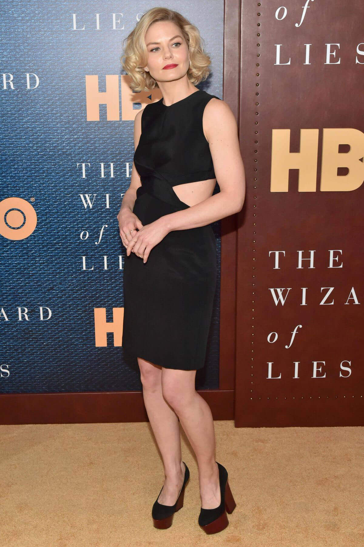 Jennifer Morrison at The Wizard Of Lies Screening in New York