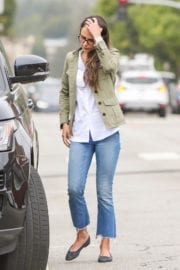 Jordana Brewster in Jeans Out in Los Angeles