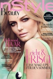 Kate Bosworth in Instyle Beauty Magazine, Germany Summer 2017 Issue