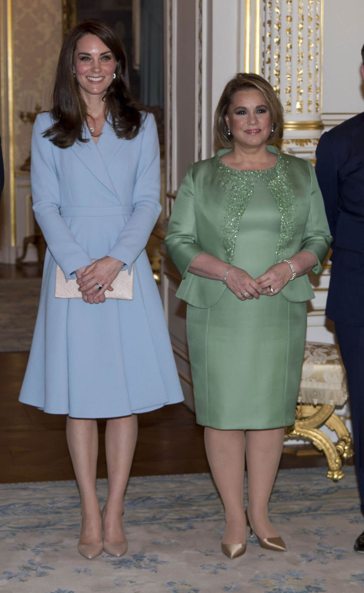 Kate Middleton at Grand Ducal Palace in Luxembourg