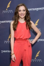 Laura Osnes at 2017 Drama Desk Nominees Reception in New York