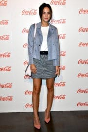 Lucy Watson Stills at Coca-Cola Summer Party in London