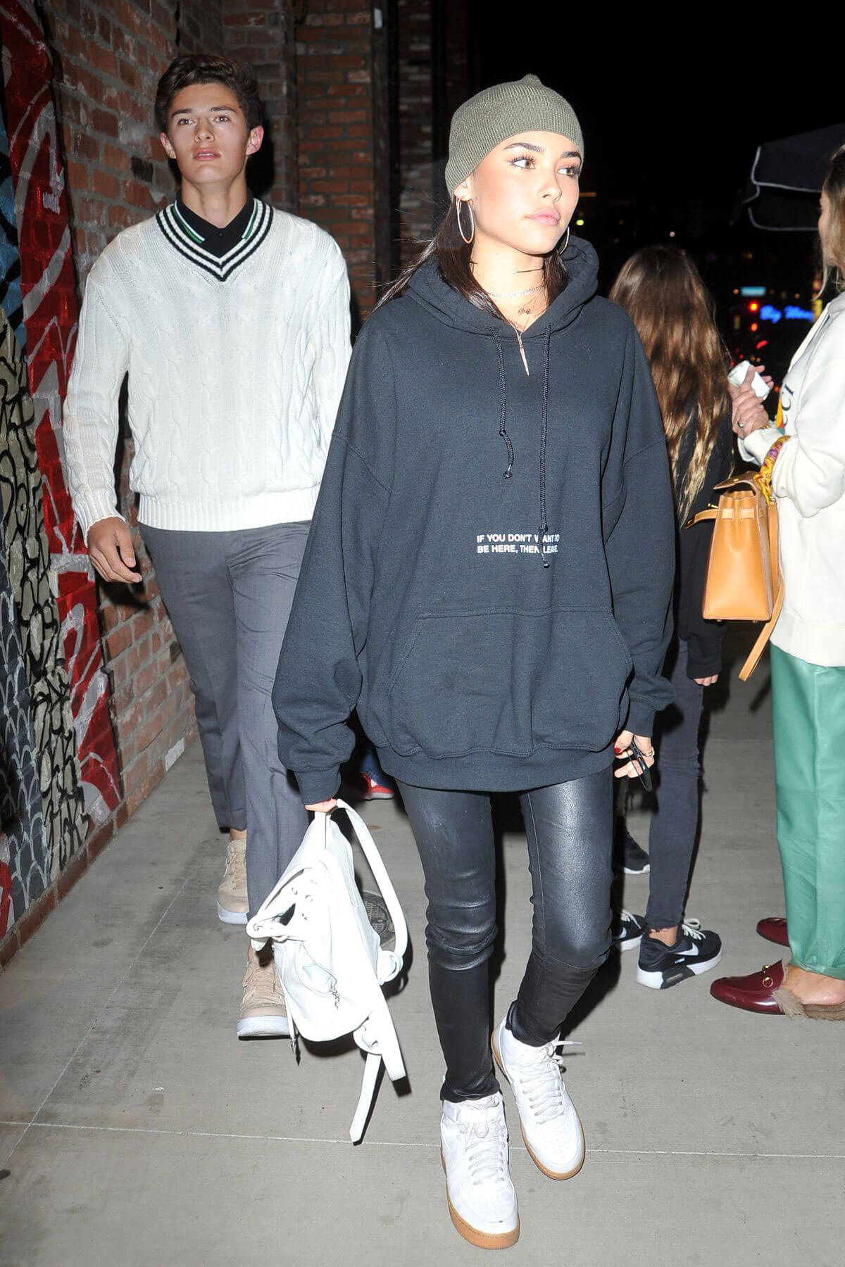 MADISON BEER at Tao Nightclub in Hollywood