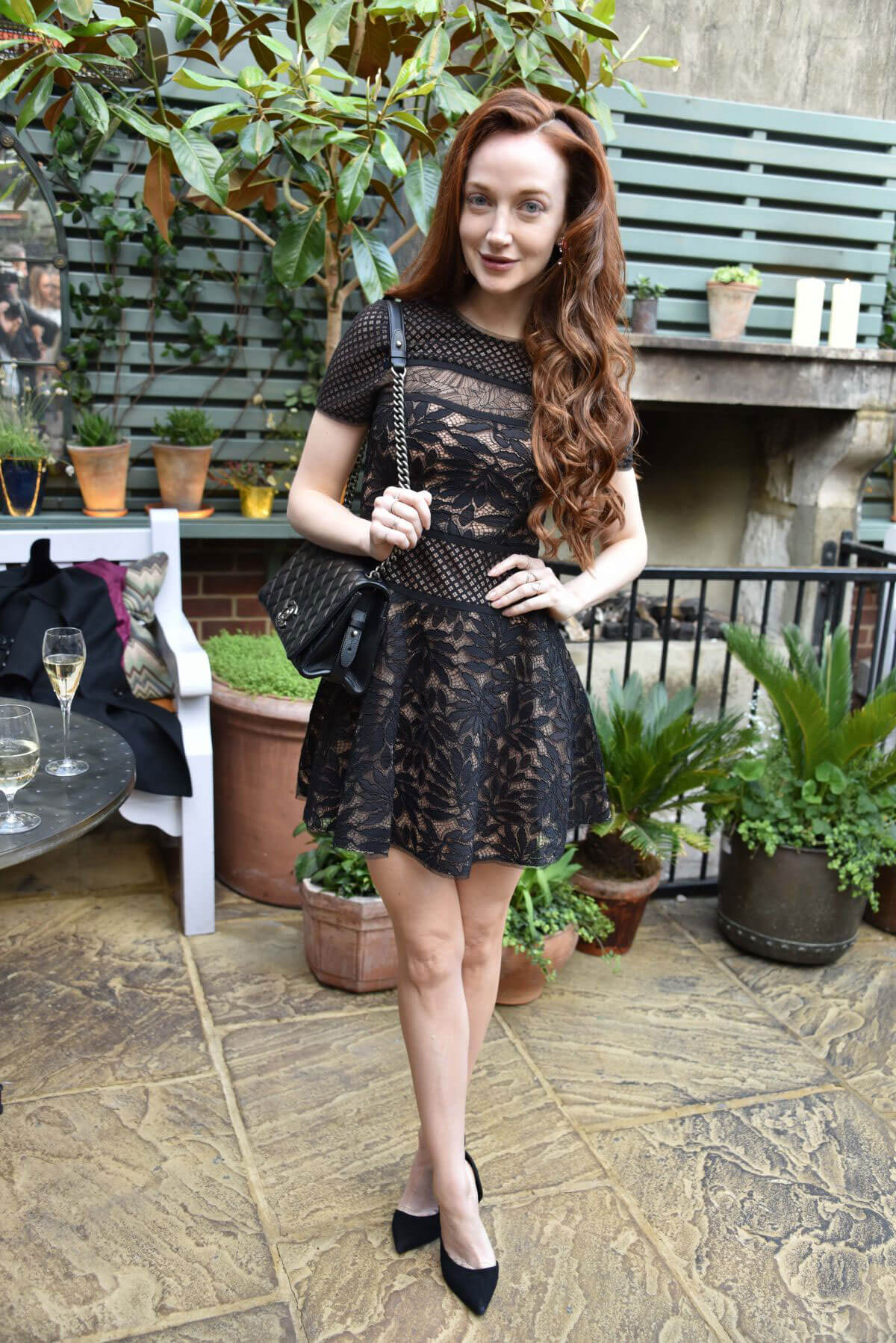 OLIVIA GRANT at Ivy Chelsea Garden Summer Party in London