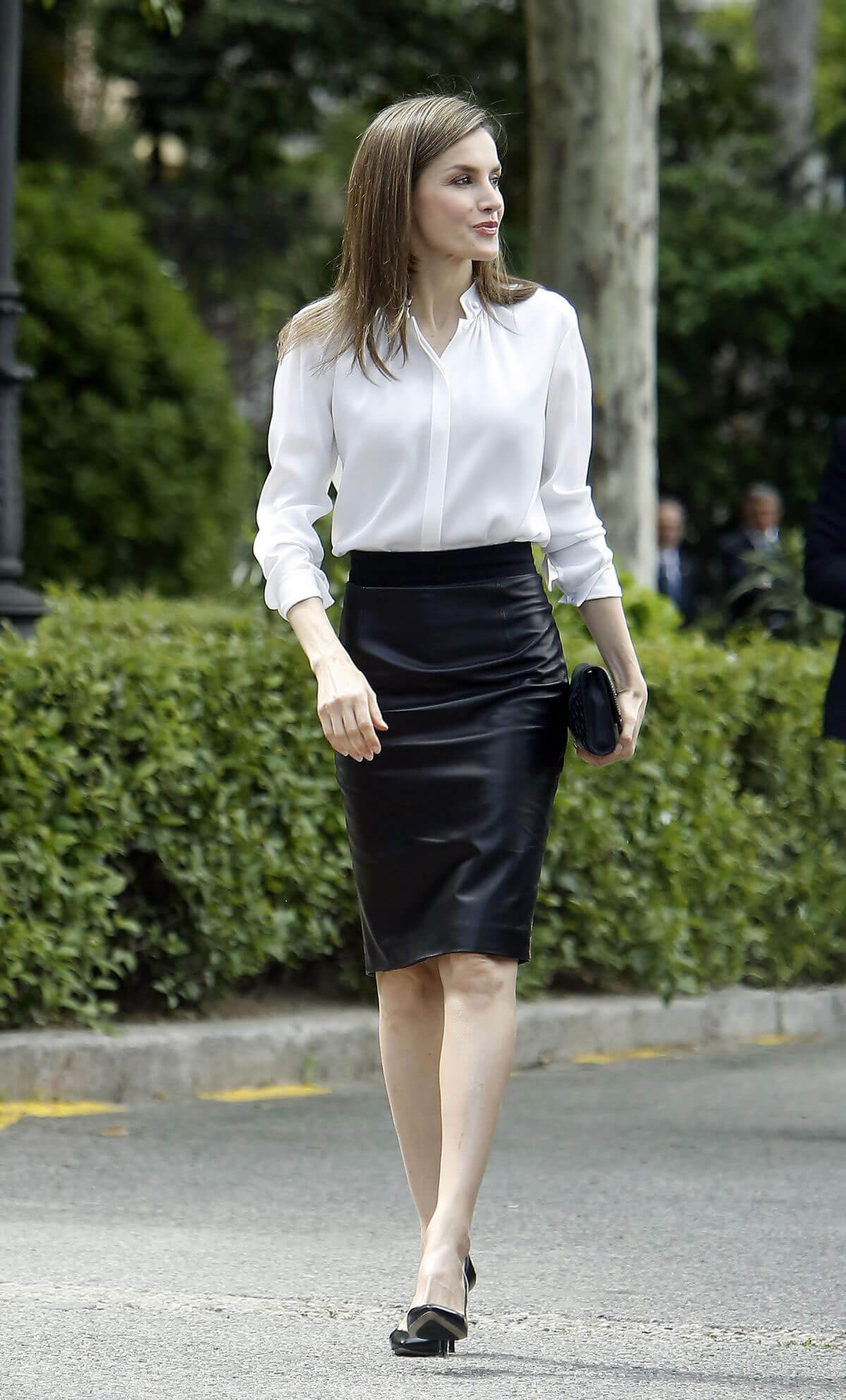 Queen Letizia Of Spain Arrives at National Library in ... Priyanka Chopra 2017 May