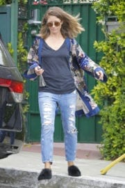 Rebecca Gayheart Out and About in Beverly Hills