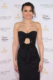 Samantha Barks at Interlude in Prague Premiere in London