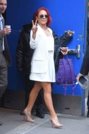 Sharna Burgess Out and About in New York