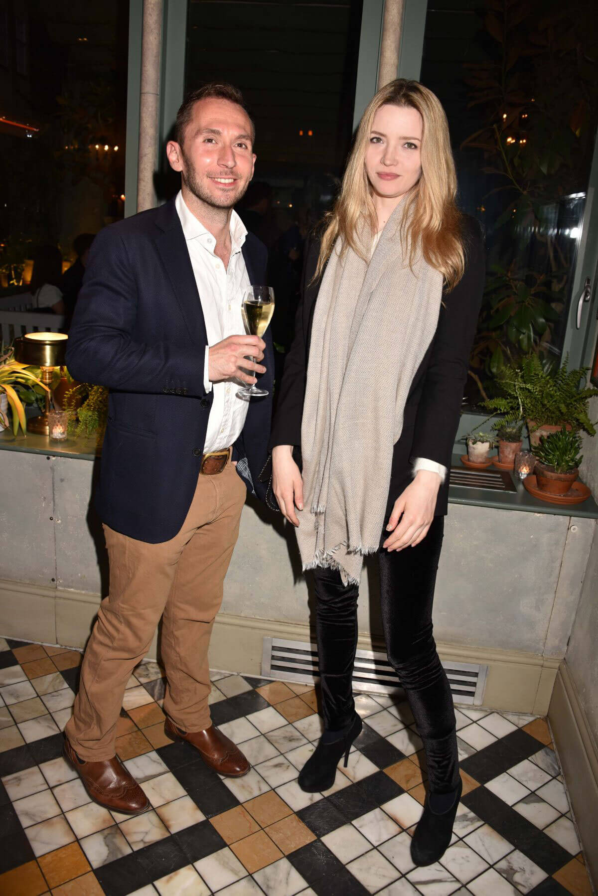 TALULAH RILEY at Ivy Chelsea Garden Summer Party in London