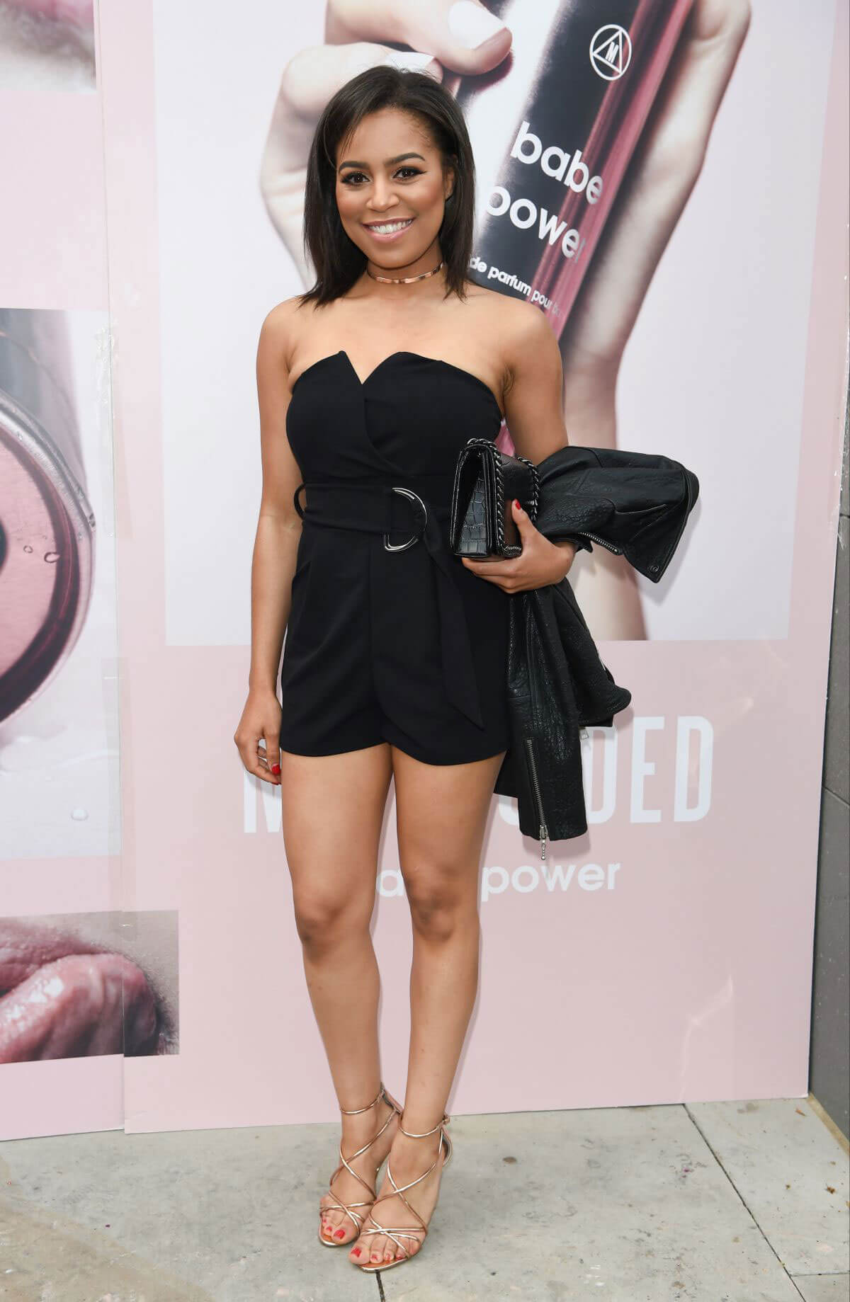 Tisha Merry at Missguided Babe Power Perfume Launch in Manchester