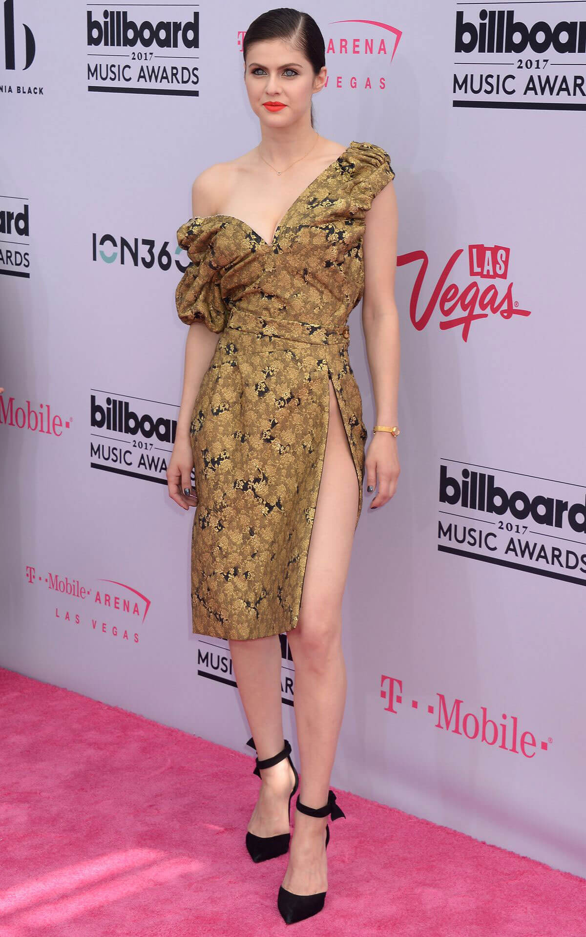 Alexandra Daddario at Billboard Music Awards 2017 in Las Vegas
