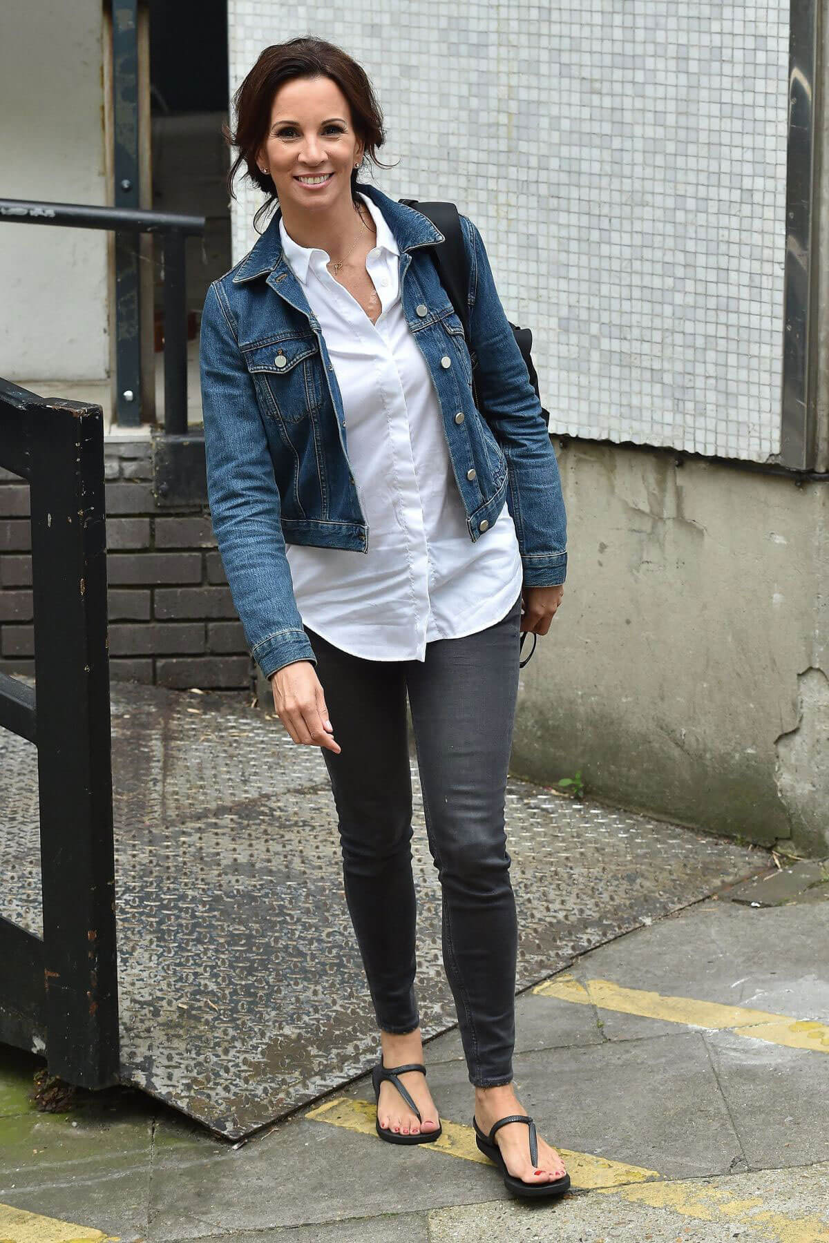 Andrea McLean Leaves ITV Studios in London