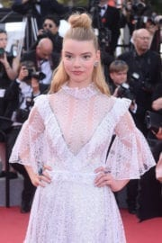 Anya Taylor-Joy at The Meyerowitz Stories Premiere at 70th Annual Cannes Film Festival
