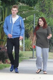ARIEL WINTER Out and About in Los Angeles