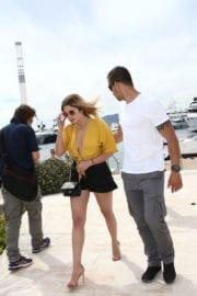Ashley Benson Out and About in Cannes