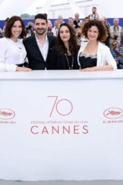 Aure Atika at Waiting for Swallows Premiere at 70th Annual Cannes Film Festival