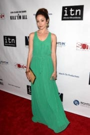 AUTUMN REESER at Kill 'Em All Premiere in Los Angeles