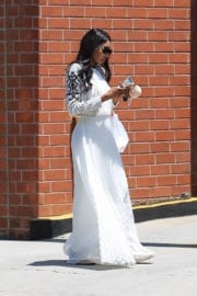 BRIA MURPHY Out Shopping in Beverly Hills