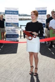 BRITTANY SNOW at American Pavilion Opening at 70th Annual Cannes Film Festival