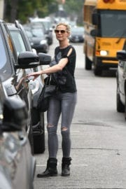 BROOKE BURNS Out in Los Angeles