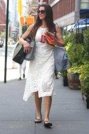 Brooke Shields Out and About in New York
