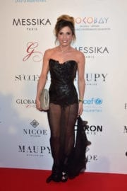 Capucine Anav at Global Gift Gala in Paris