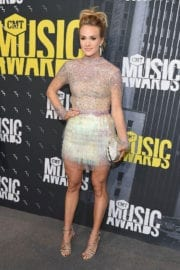 CARRIE UNDERWOOD at 2017 CMT Music Awards in Nashville