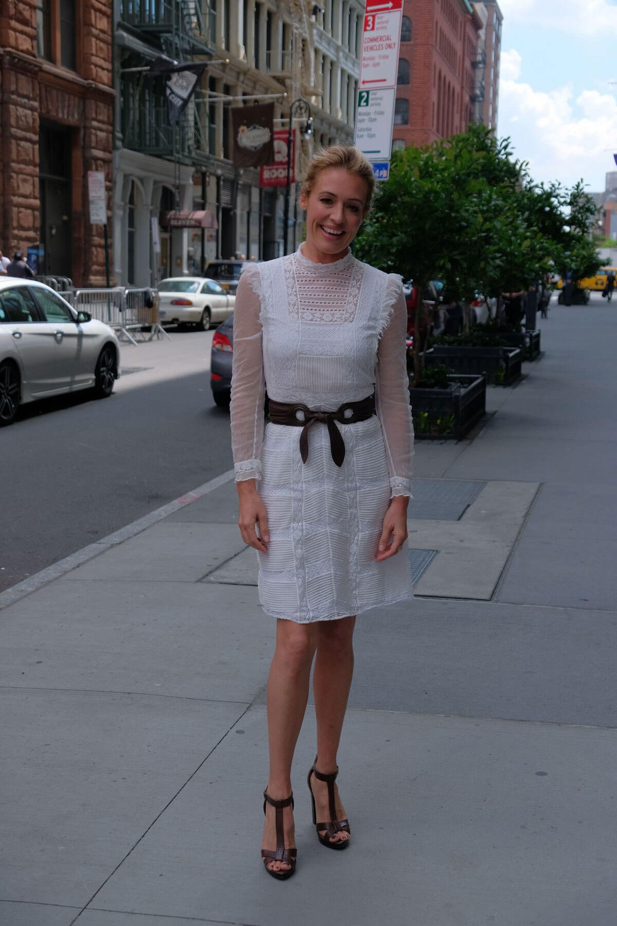 CAT DEELEY Out and About in New York