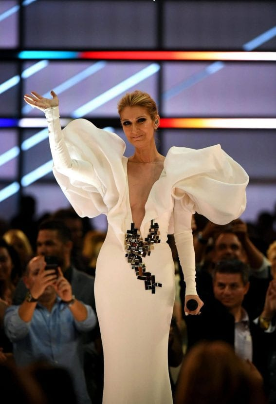 Celine Dion Performs at 2017 Billboard Music Awards in Las Vegas