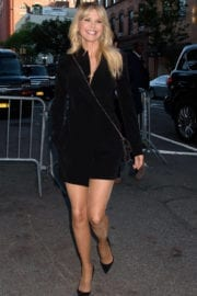 CHRISTIE BRINKLEY Arrives at 2017 Stephan Weiss Apple Awards in New York