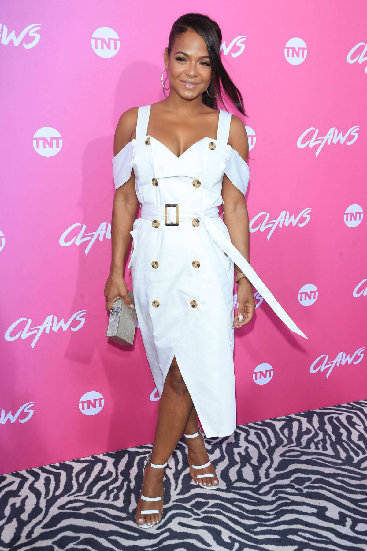 Christina Milian at Claws Premiere in Los Angeles