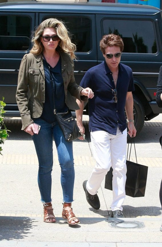 Daisy Fuentes Shopping at Barney's New York in Beverly Hills