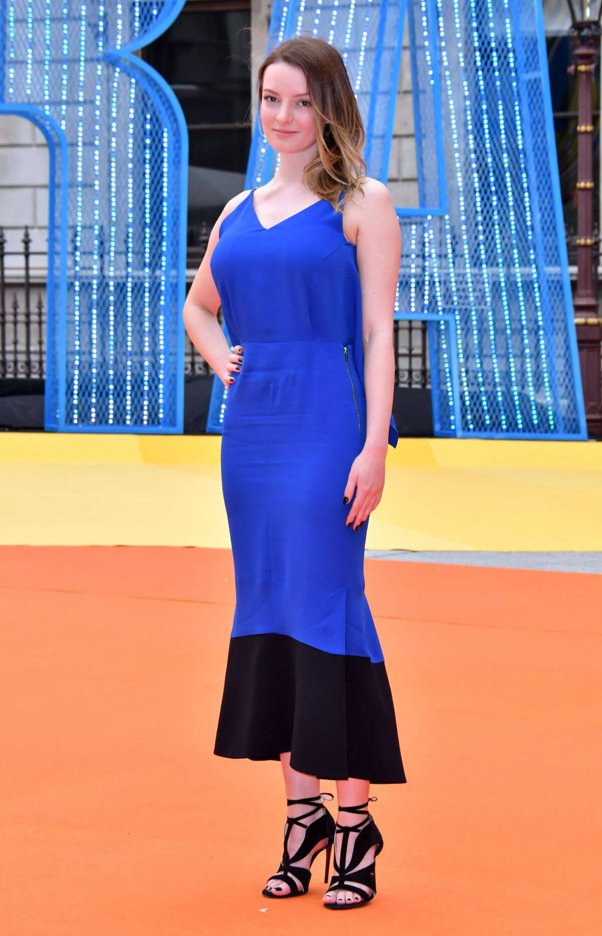 DAKOTA BLUE RICHARDS at Royal Academy of Arts Summer Exhibition VIP Preview in London