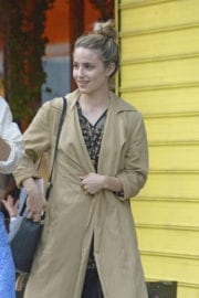DIANNA AGRON Out and About in New York