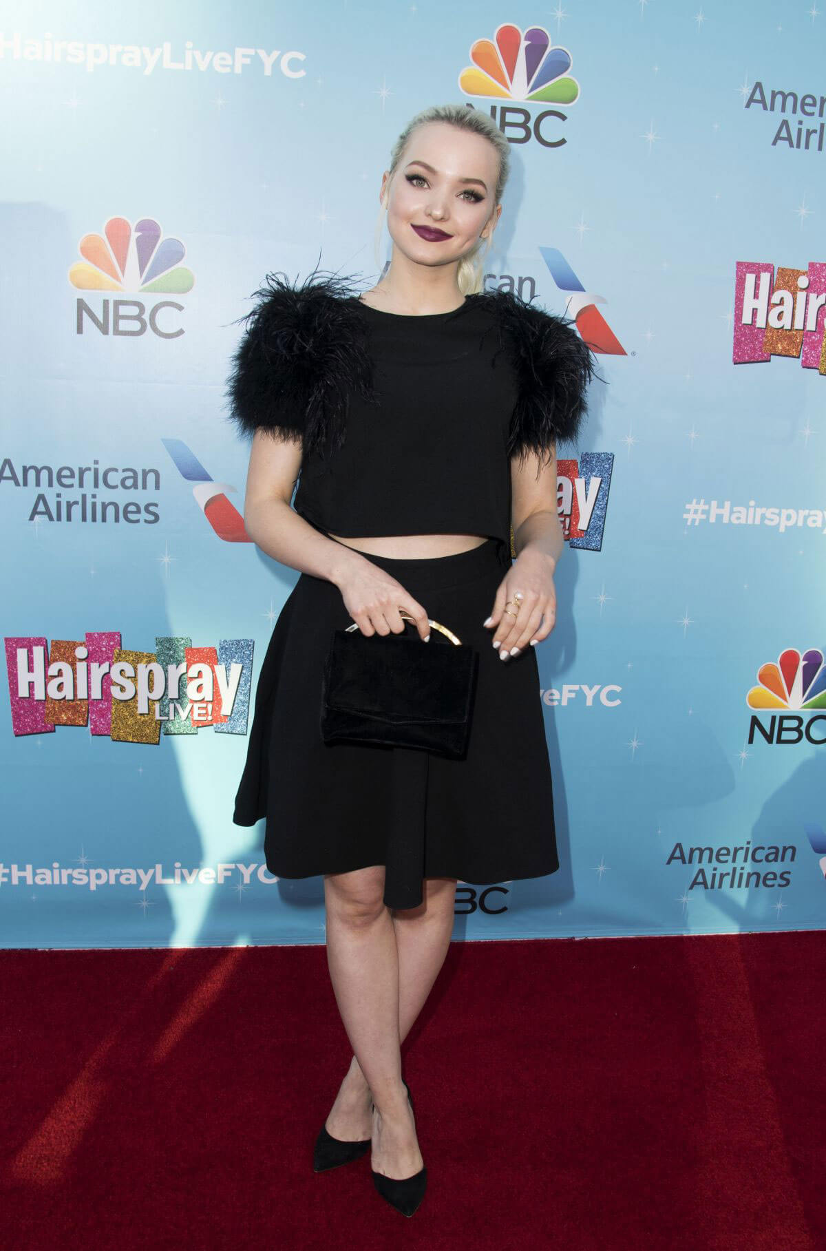 Dove Cameron at Hairspray Live! FYC Event in Hollywood