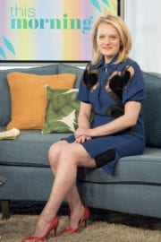 Elisabeth Moss at This Morning TV Show in London