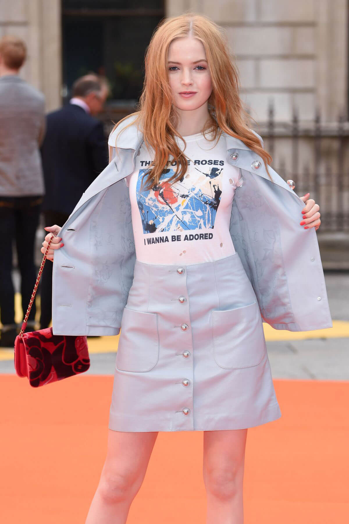 Academy Of The Arts >> Ellie Bamber at Royal Academy of Arts Summer Exhibition VIP Preview in London - Celebskart