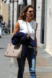 Fiona Swarovski Out and About in Milan
