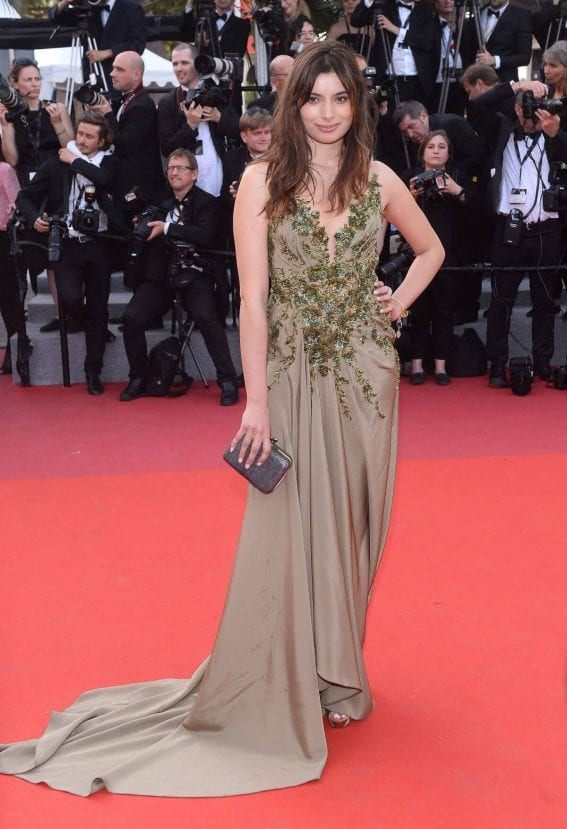 Gabriella Wright at The Meyerowitz Stories Premiere at 70th Annual Cannes Film Festival