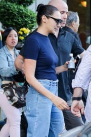Gal Gadot Leaves Her Hotel in New York
