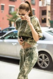 GIGI HADID Out and About in New York