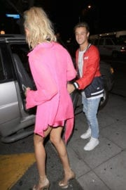 Hailey Baldwin Night Out in West Hollywood
