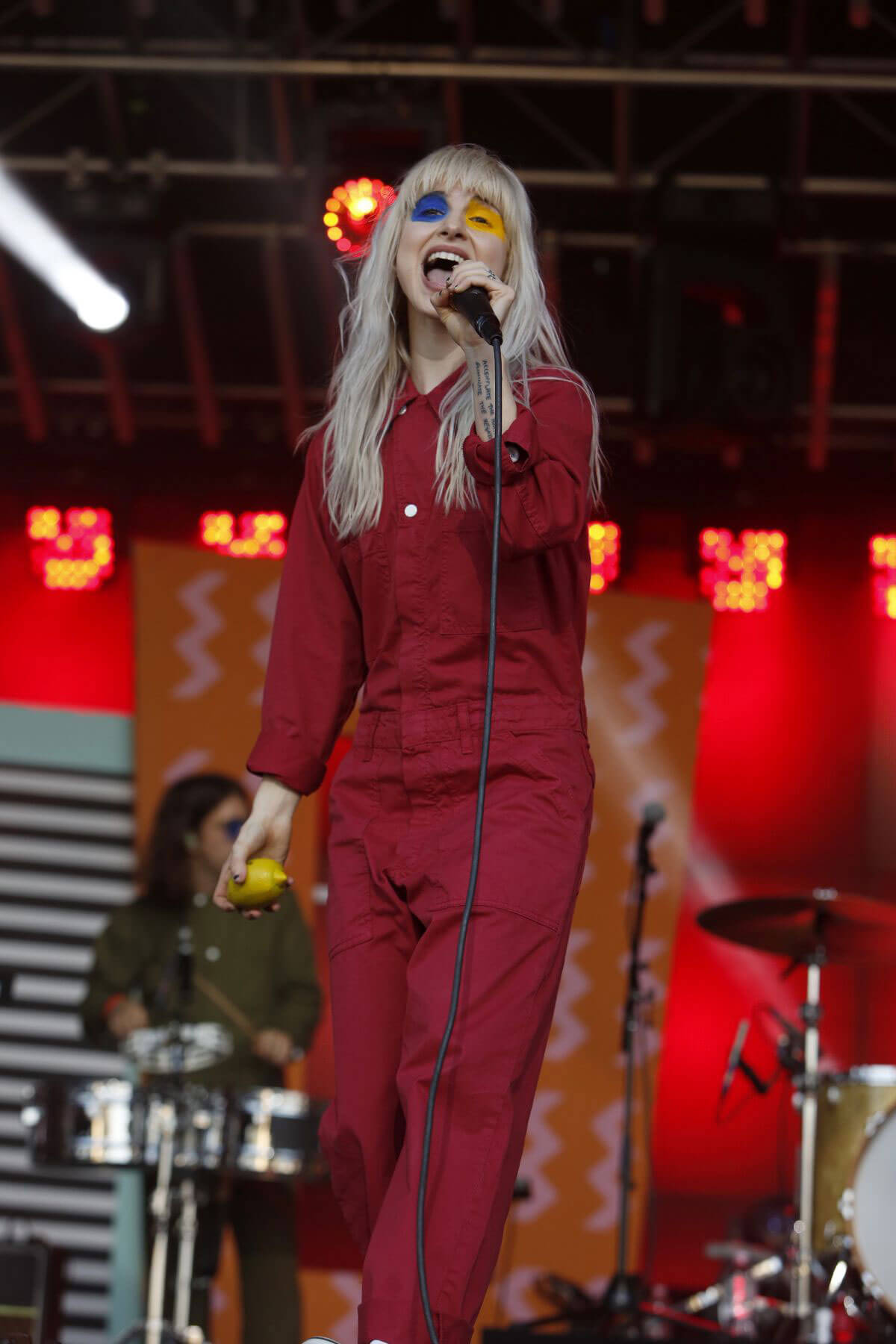 HAYLEY WILLIAMS Performs at Jimmy Kimmel Live