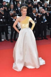 Heike Makatsch at The Meyerowitz Stories Premiere at 70th Annual Cannes Film Festival