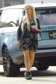 Holly Madison Out and About in West Hollywood