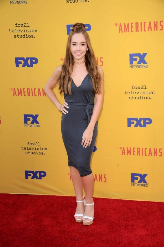 Holly Taylor at The Americans FYC Event in Los Angeles