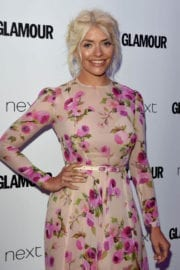 HOLLY WILLOGHBY at Glamour Women of the Year Awards in London