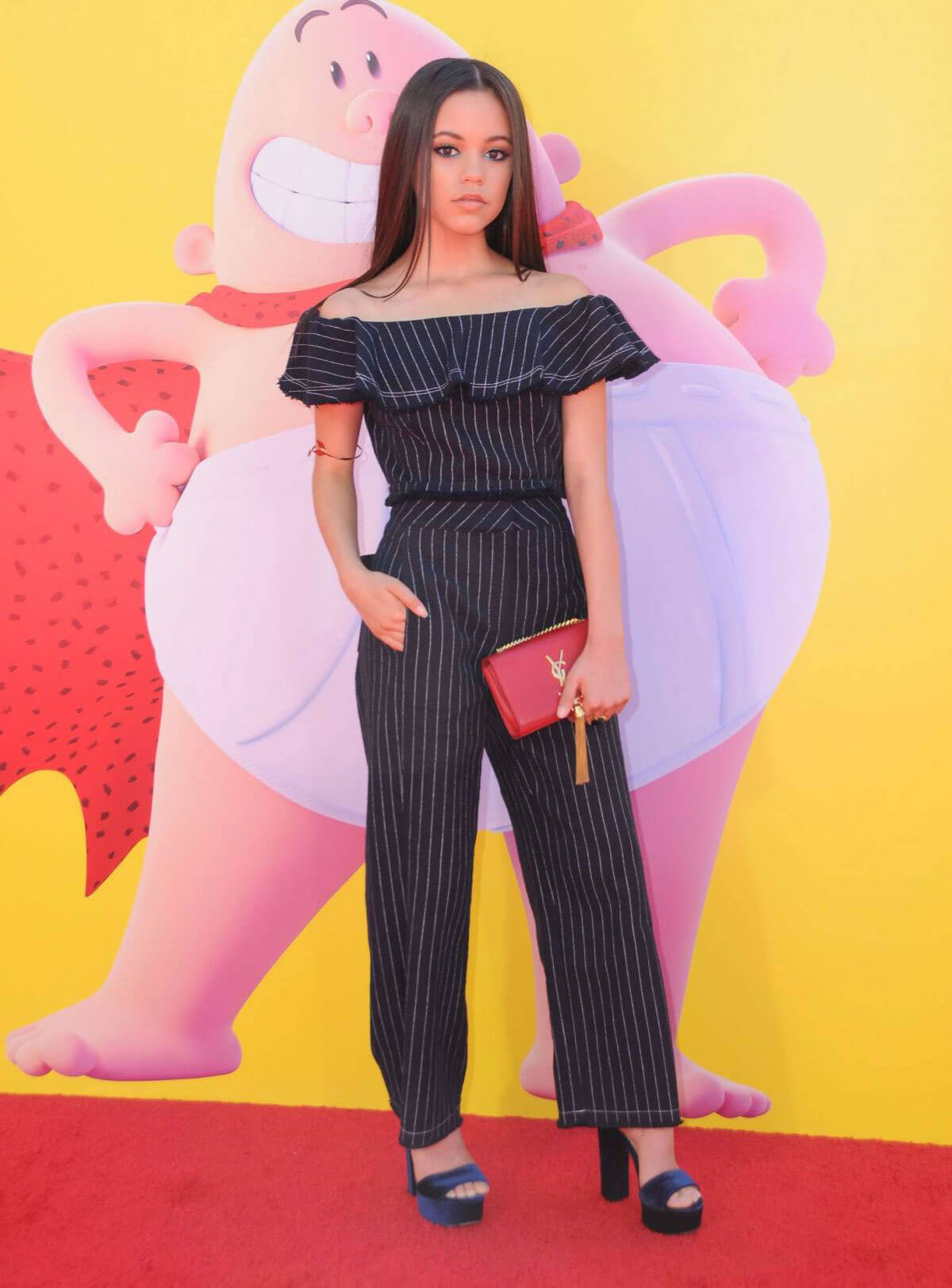 Jenna Ortega at Captain Underpants Premiere in Los Angeles