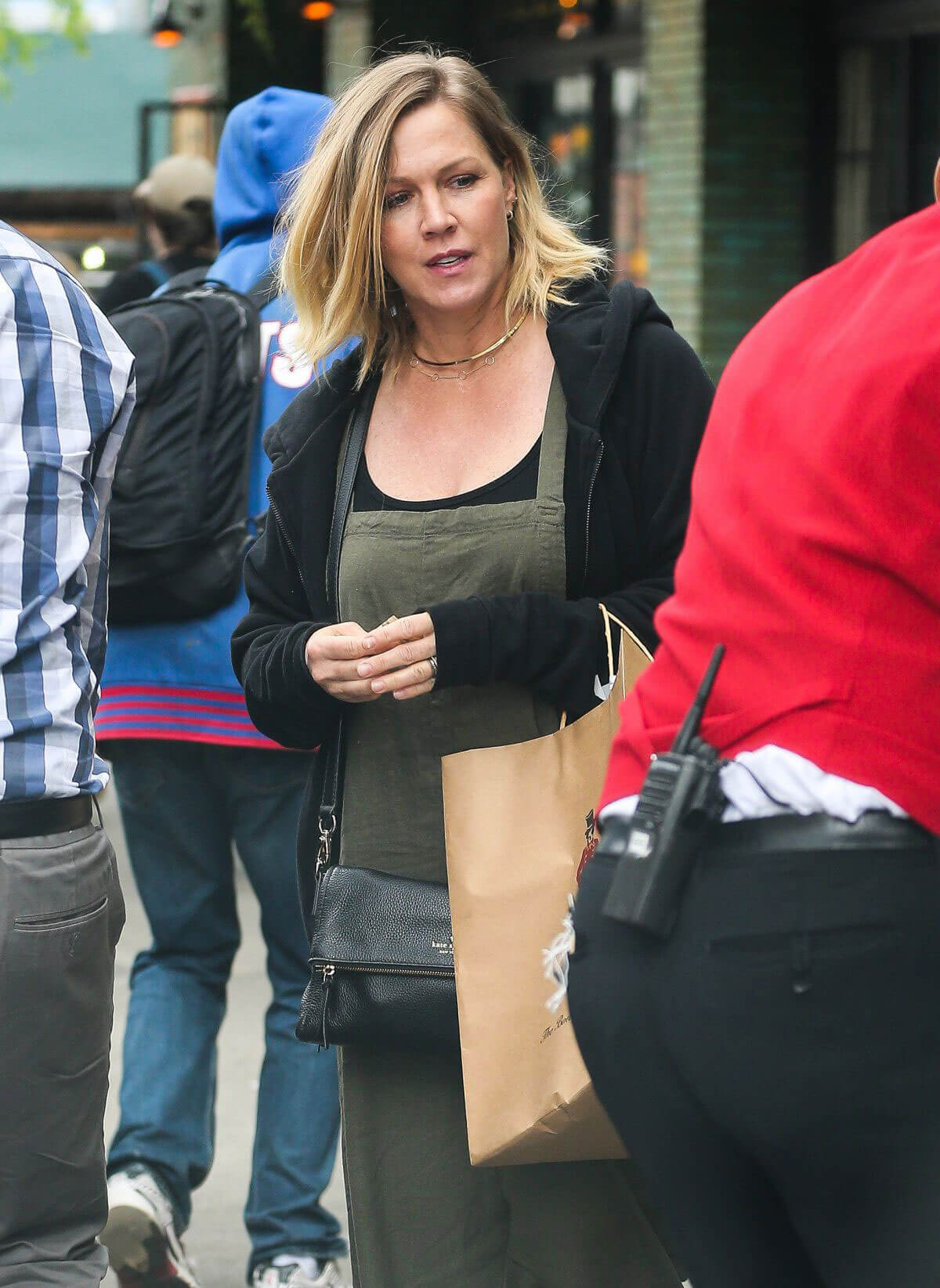 JENNIE GARTH Out and About in New York