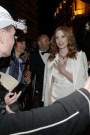 Jessica Chastain Meets Fans at Martinez Hotel in Cannes